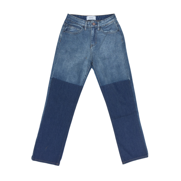 Objects Without Meaning STRAIGHT LEG PATCH JEAN