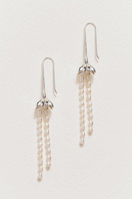 Pamela Love Anemone Pearl Earrings
