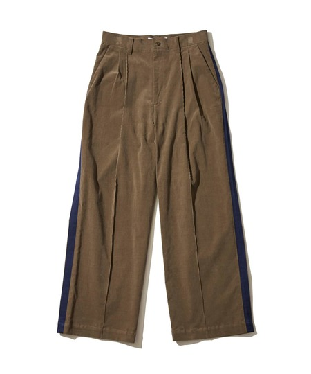 F/CE Semi Wide Corduroy Trousers