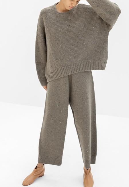Lauren Manoogian Wide Pants - Olive Tweed