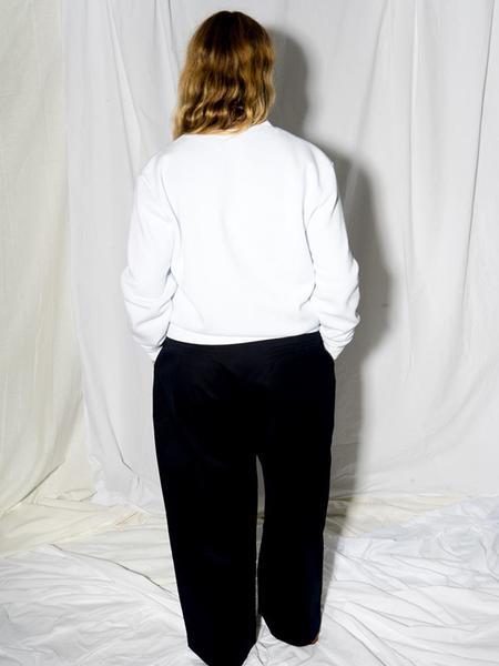 Unisex Audrey Louise Reynolds New Fleece Crewneck Sweatshirt - Barely Blues
