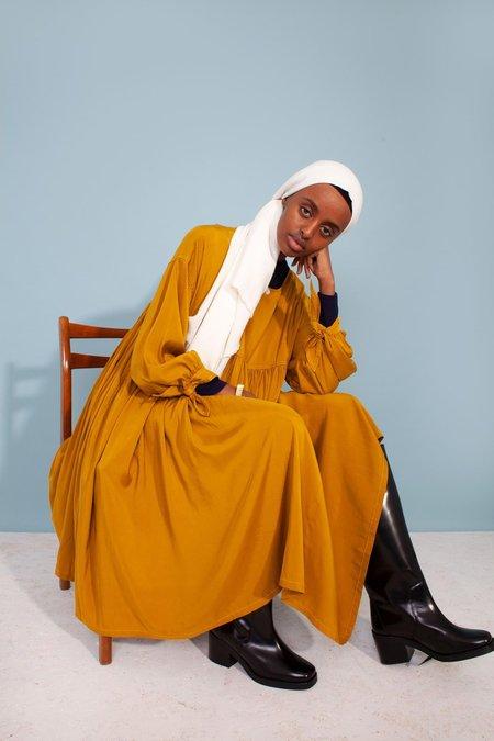 L.F.Markey Kel Rayon Dress - Chartreuse