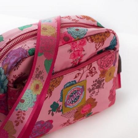 KIDS oilily color splash shoulder bag - camellia rose