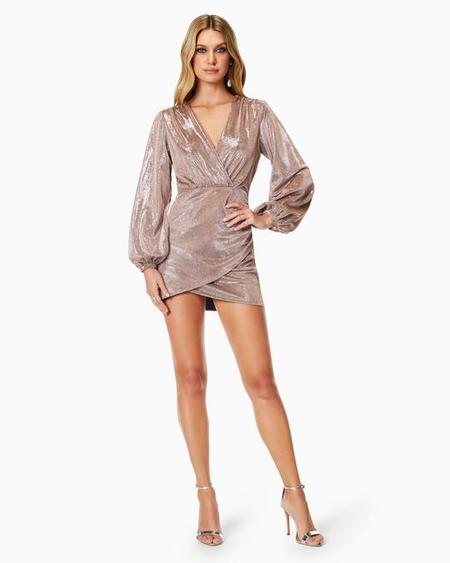 Ramy Brook Bonny Dress - Holiday Blush