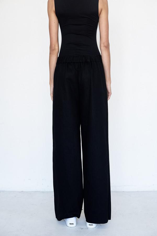 Index Series Cotton Wide Leg Trouser