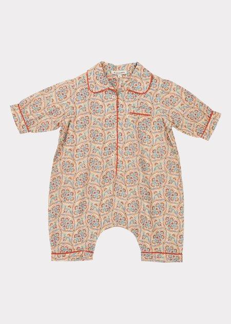KIDS Caramel Baby Pyjamas - Paisley Print