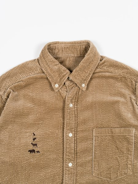 Mountain Research Big B.D. shirt - Beige