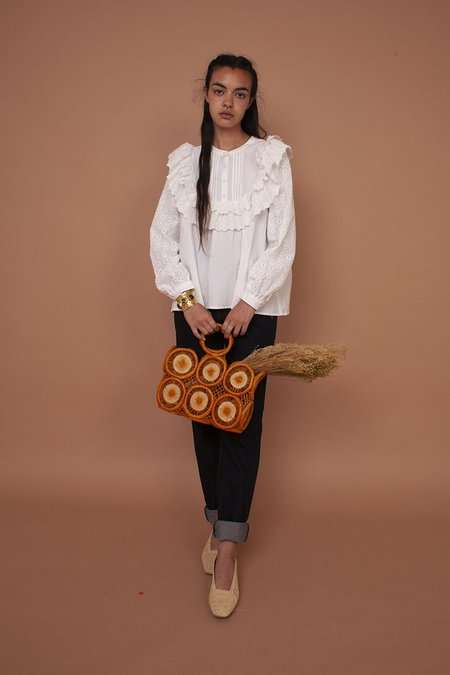 MEADOWS Poppy Shirt - White