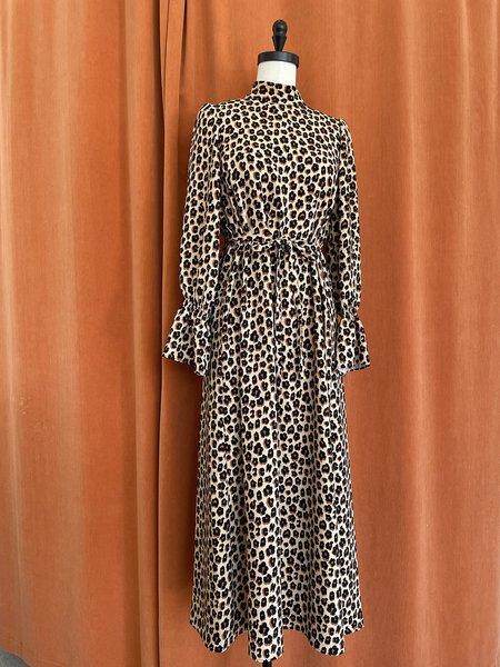 Vivetta Midi Dress - Cheetah