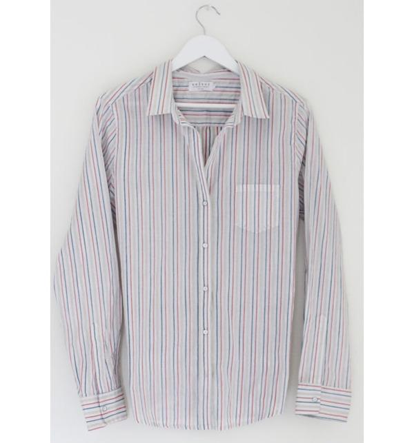 Velvet Striped Shirt