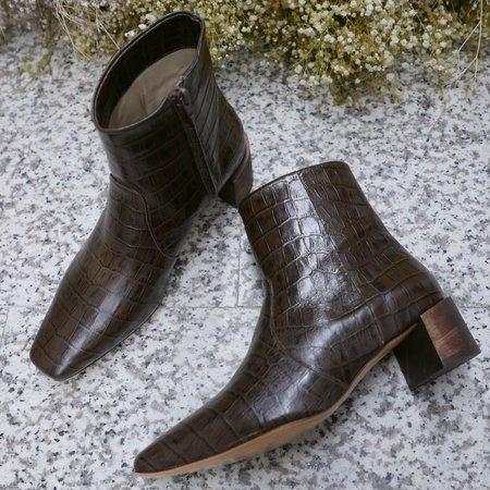 Mari Giudicelli Classic Boot - Croco Nescau