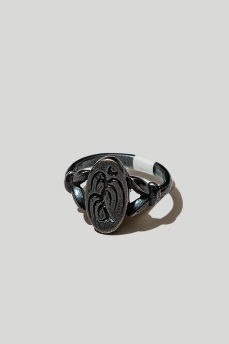 Arcana Obscura Nocturne Ring - Oxidized Silver