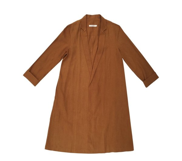Ali Golden Notch Jacket Rust