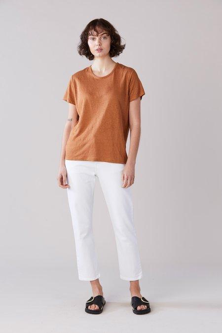 Laing Home Essential Linen T-Shirt - Tan