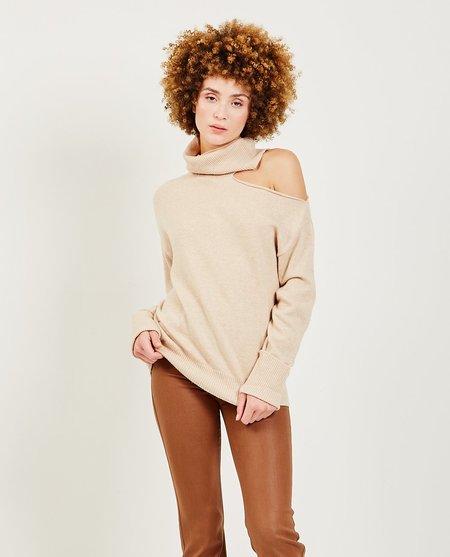 Paige Raundi Sweater - Camel