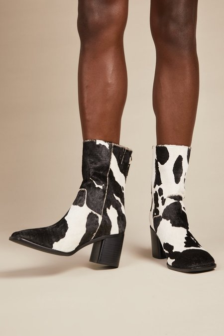 """INTENTIONALLY __________."" PG Boots - Moo"