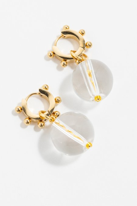 NOTTE Bubbles Earrings - Gold plated