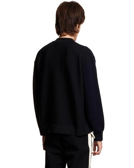 AMBUSH Overlap Sweater - Black