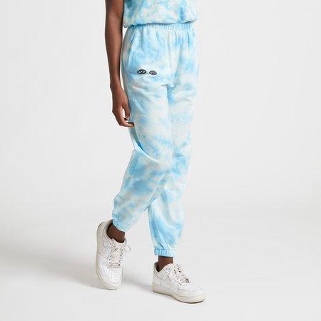 Clare V. Sweatpants - Light Blue Tie Dye
