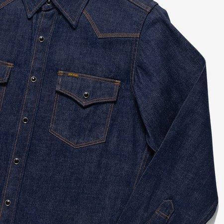 Iron Heart IHSH-246-NIN shirt - indigo