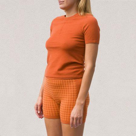 Nagnata Merino Trash Tee - Rust / Orange