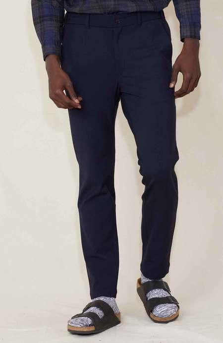 Sage de Cret Slim Fit Pants - Navy