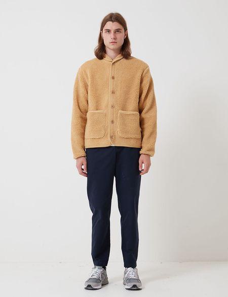 Bhode Fleece Work Jacket - Camel