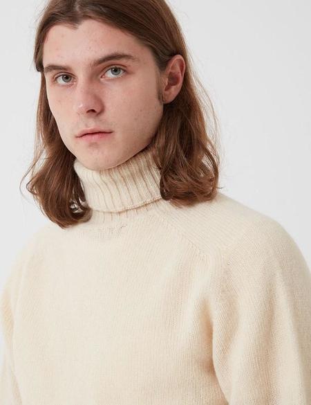 Bhode Lambswool Roll Neck Jumper sweater - Beige