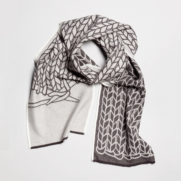 String Theory 'How to Knit' scarf