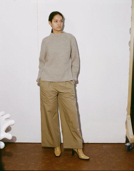 SHAINA MOTE Fuerza Sweater - Melange Beige