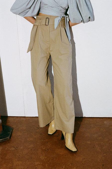 SHAINA MOTE Museo Trouser - Beige