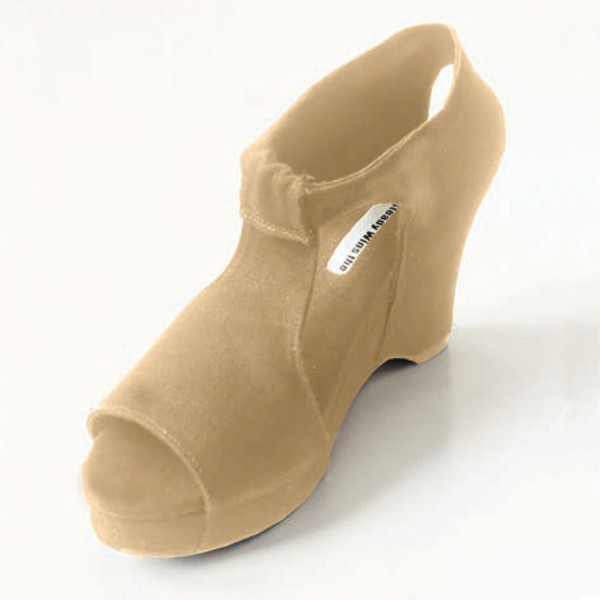 Slow and Steady Wins the Race Wedge Sandal in Khaki