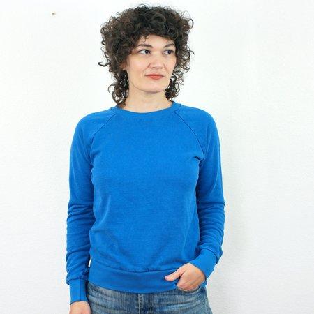Jungmaven Madeline Raglan Sweatshirt - Lake Blue