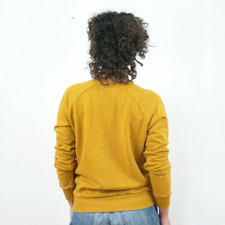Jungmaven Madeline Raglan Sweatshirt - Marigold