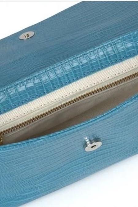 Paloma Wool Glenda Front Flap Bag - Aqua