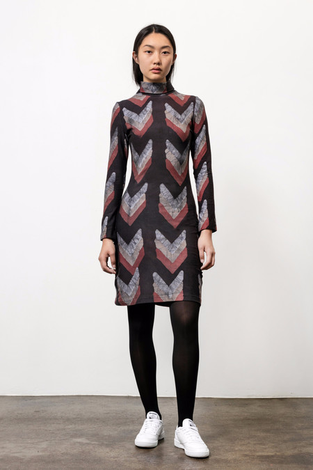 Osei-Duro Kendo Turtleneck Dress