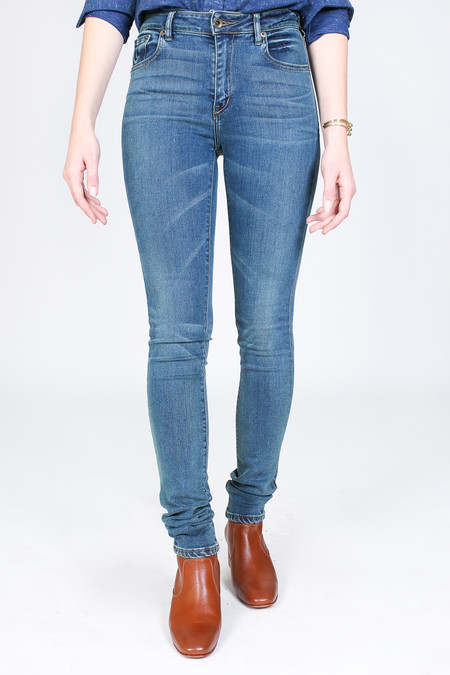Raleigh Denim Workshop Haywood high rise skinny - TKO wash