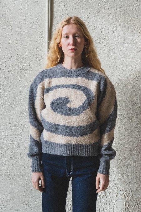 Paloma Wool Twister Sweater - Melange Grey