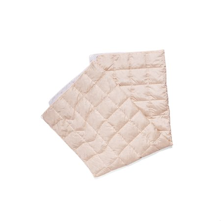 Rumpl x Westerlind Solid Down Puffy Blanket - Snow White/Beige