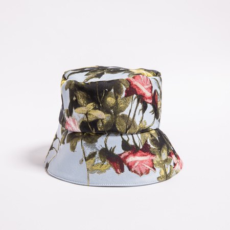 Rightful Owner Bucket Hat -  Blue Roses