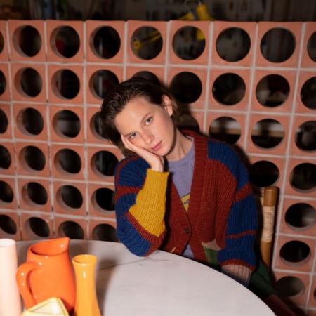 Kids Bobo Choses Jacquard Colour Block Cardigan - Multi