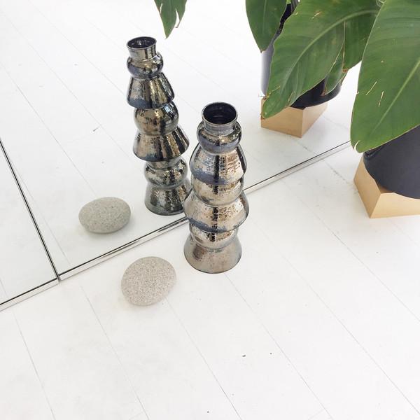 Ashley Hardy Large Chrome Vase