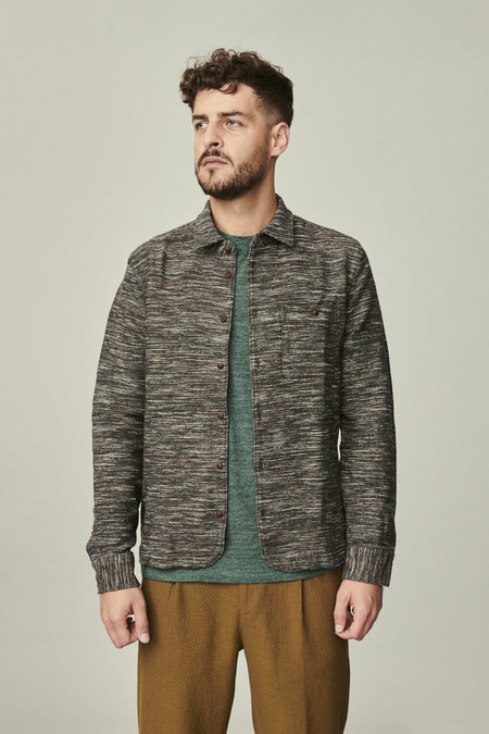 AW by Andrea Wong Over-Shirt in a Mix of Wool, Cotton, Linen and Cashmere