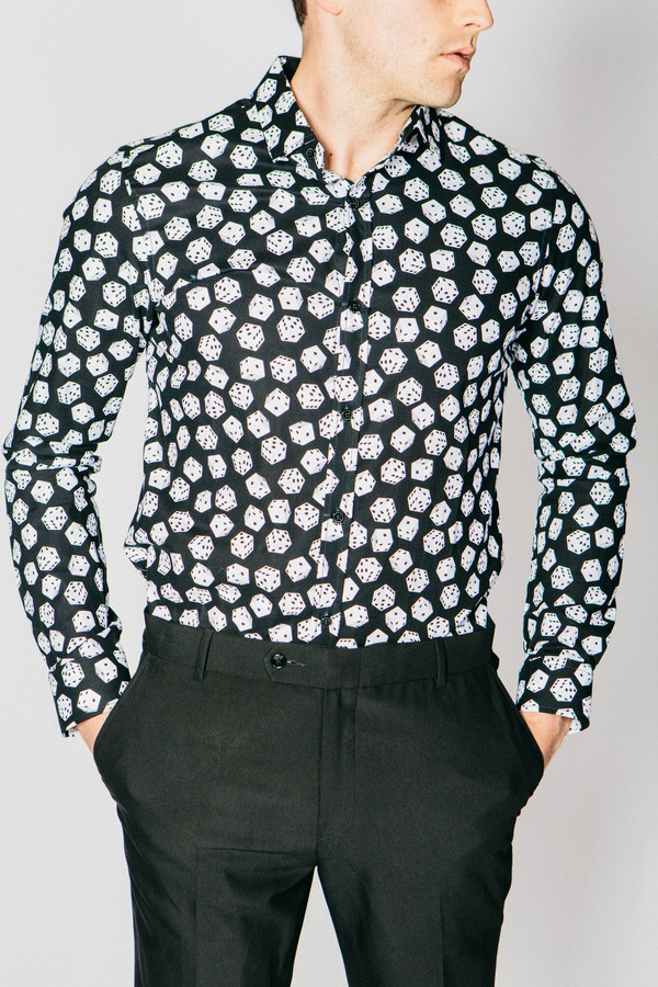 Men's Any Old Iron Lucky Dice Shirt