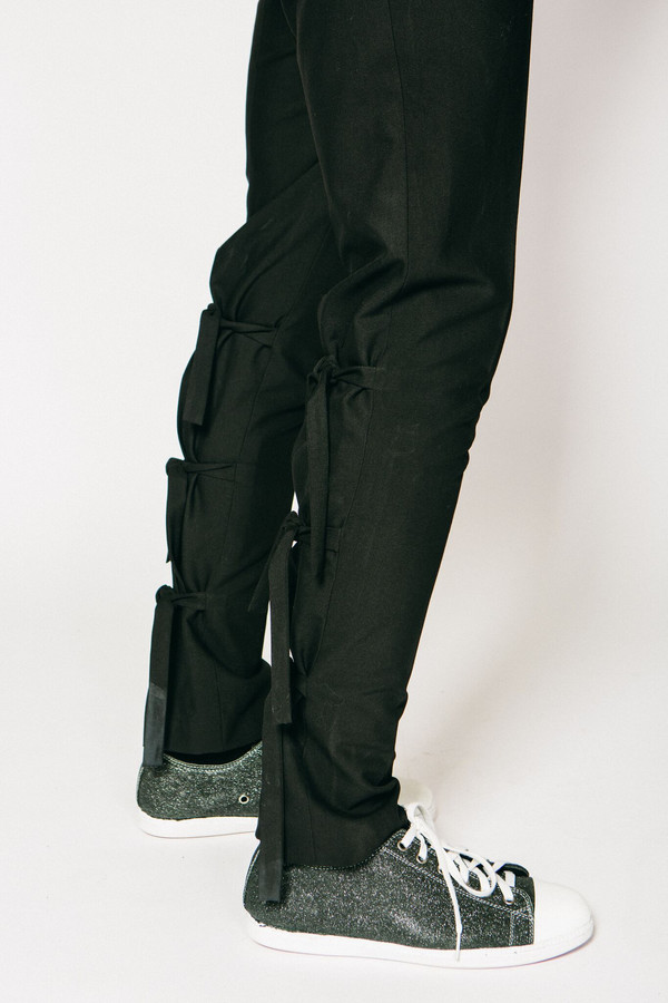 Men's Any Old Iron Tie Up Trousers
