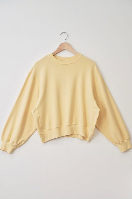a mente Garment Dye Cotton Sweatshirt
