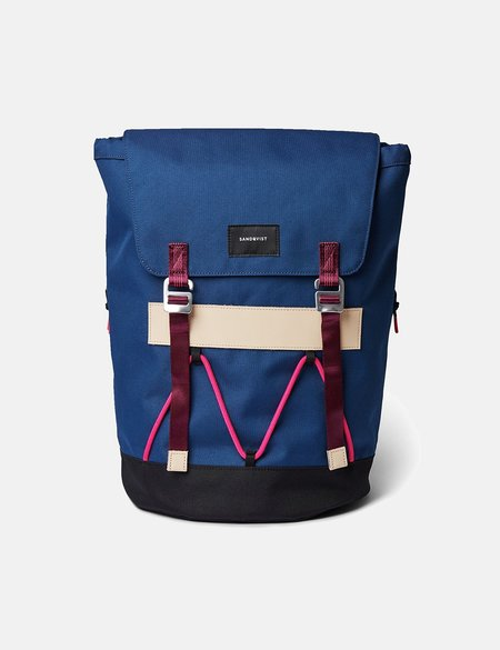 Sandqvist Johannes Backpack - Evening Blue