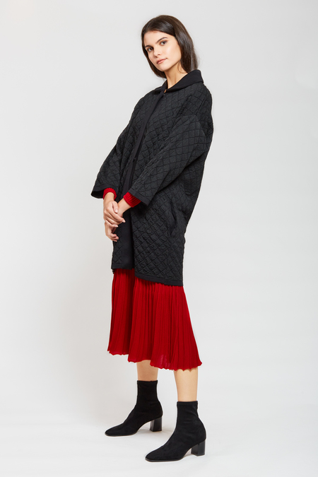 MARIO Coat Jacket - Black