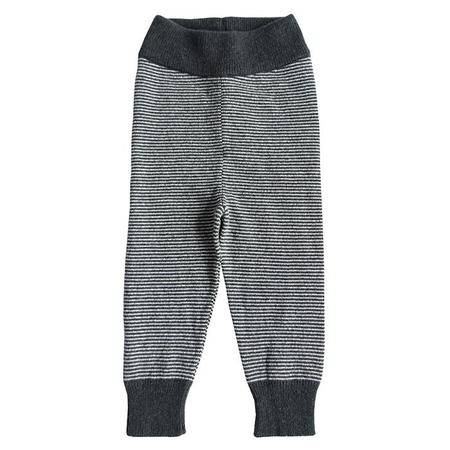 Kids Cataleya Alfa Cashmere Leggings - Black Stripes