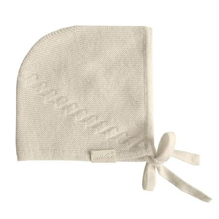 Kids Cataleya Barbara Cashmere Bonnet - Cream